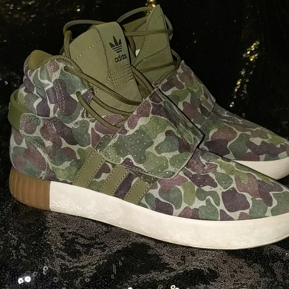 Adidas Camo Print Sneaker